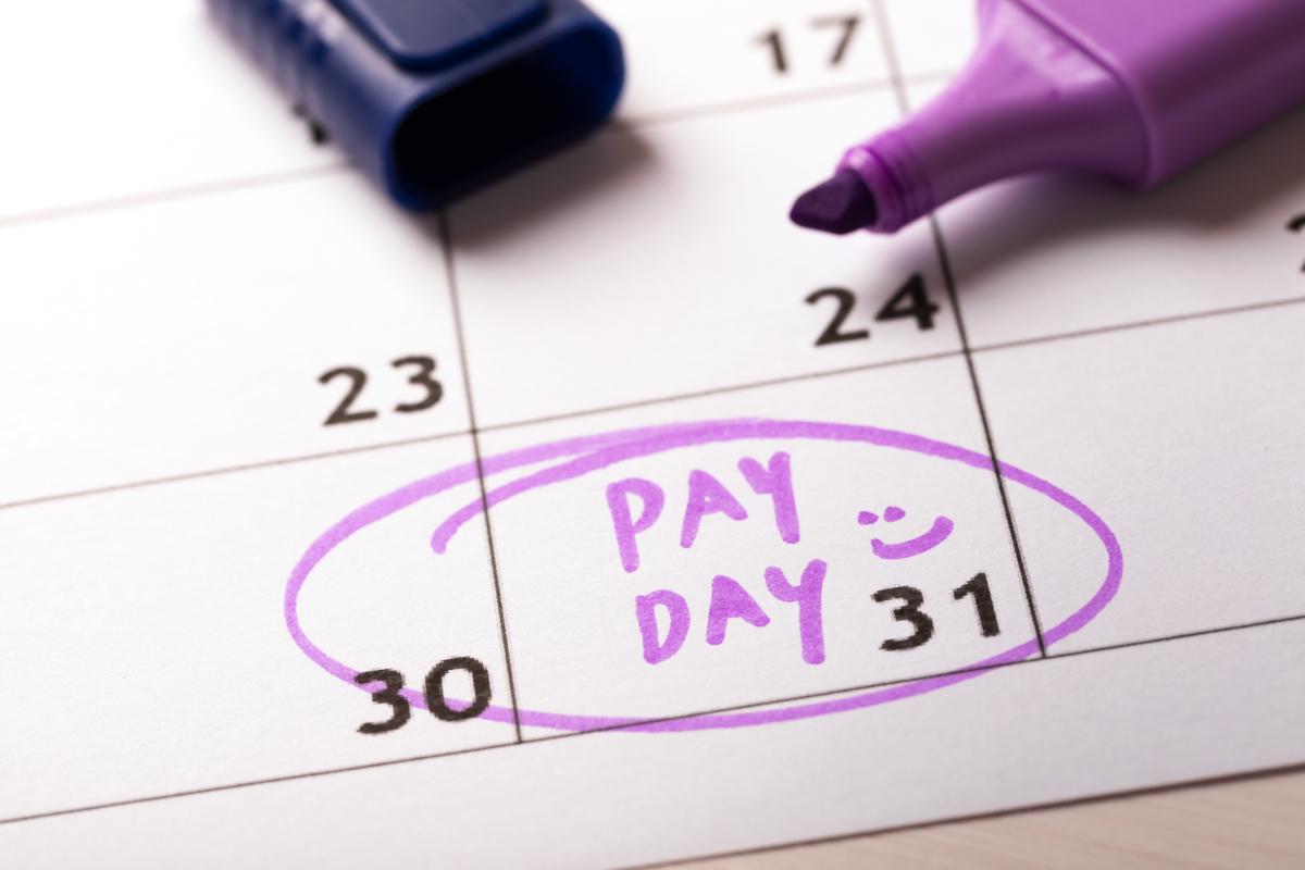 Welch Payroll Services payroll calendar
